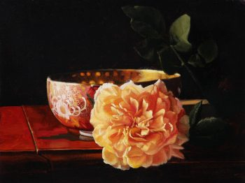 Rose and China Bowl