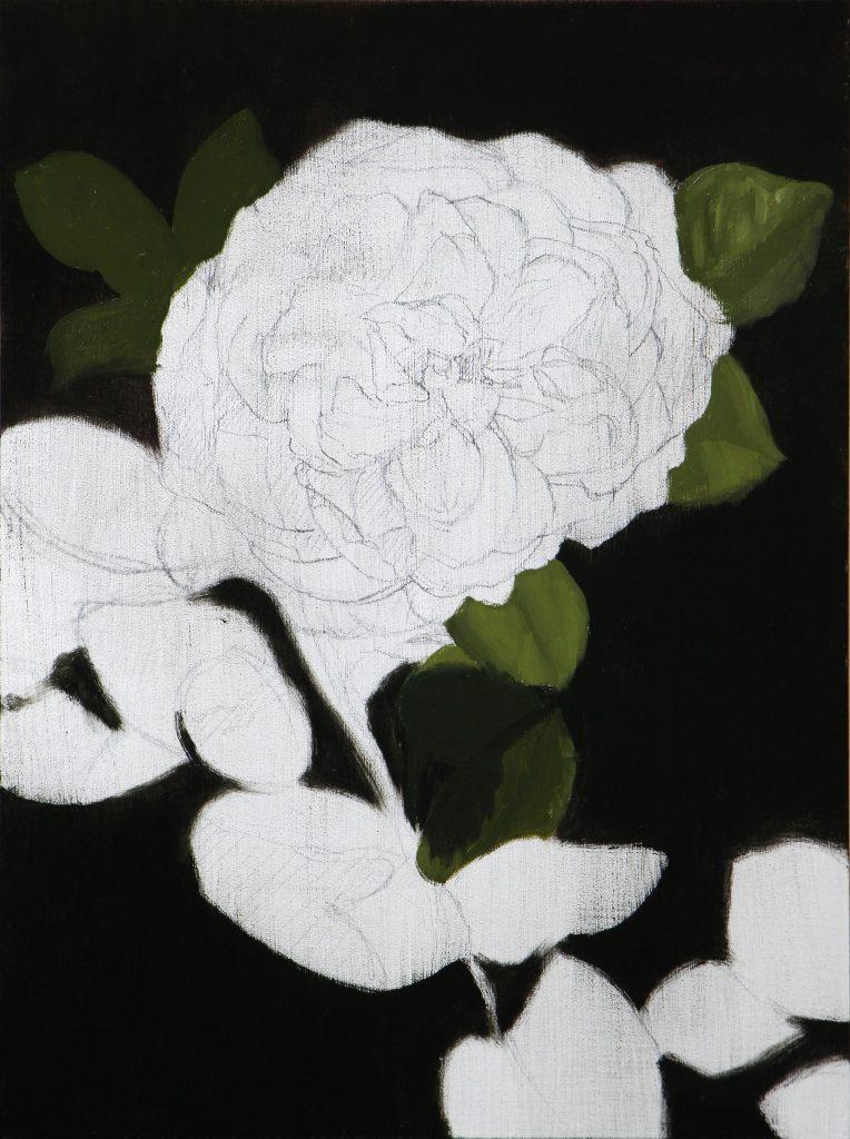 White Rose Block In - 1